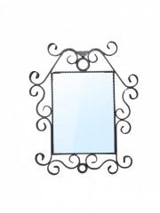 kovaný rám na zrcadlo